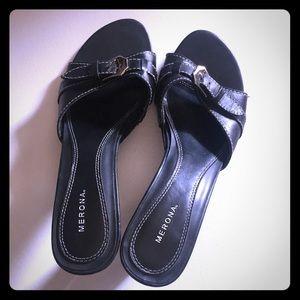 Merona Shoes - Merona Leather Heels